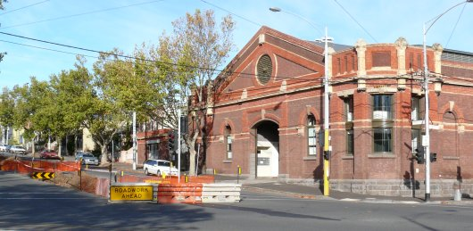 Former North Melbourne cable engine house, May 2007. Photograph courtesy Russell Jones