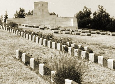 Shell Green Cemetery. Photograph Commonwealth War Graves Commission.